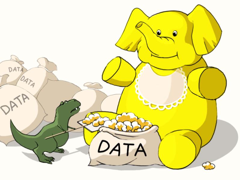 hadoop_elephant_trex